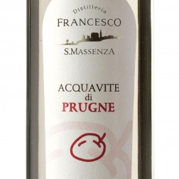 Acquavite di Prugna cl. 50 - Distilleria Francesco S. Massenza